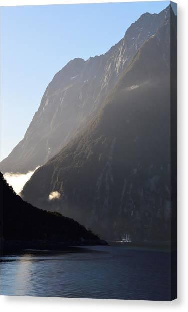 Dark Sound - New Zealand Canvas Print