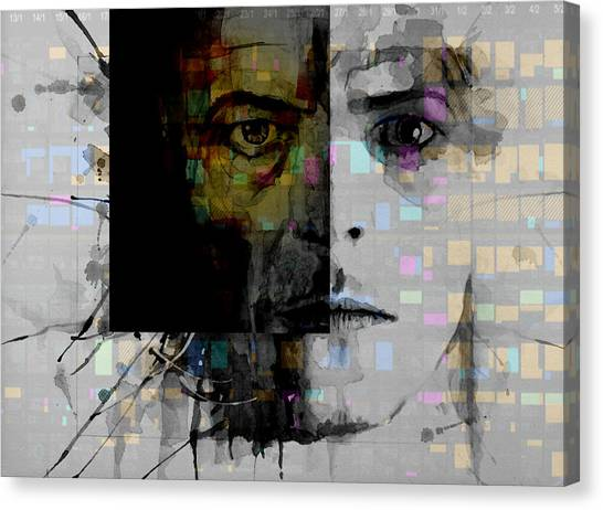 David Bowie Canvas Print - Dark Star by Paul Lovering