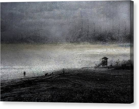Dark Sunrise Canvas Print