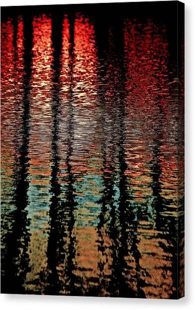 Dark Waters Canvas Print by Gillis Cone