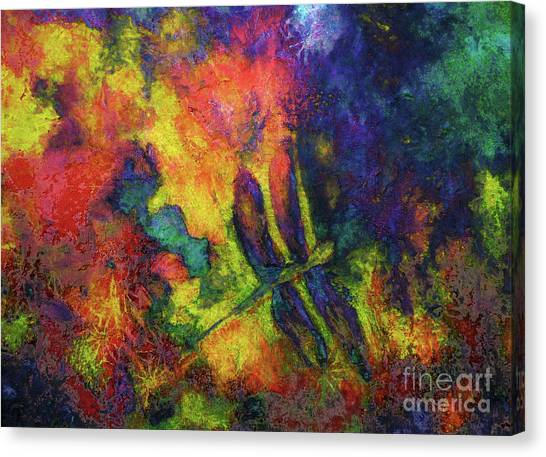 Darling Darker Dragonfly Canvas Print