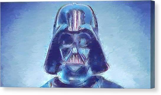 Canvas Print - Darth Vader Blues by Modern Art