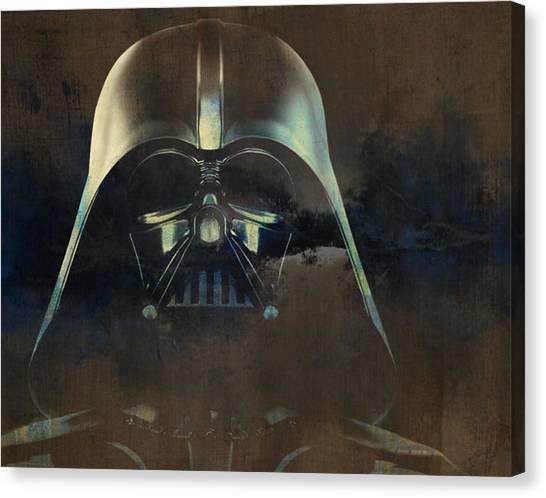 Darth Vader Canvas Print - Darth Vader by Paul Lovering