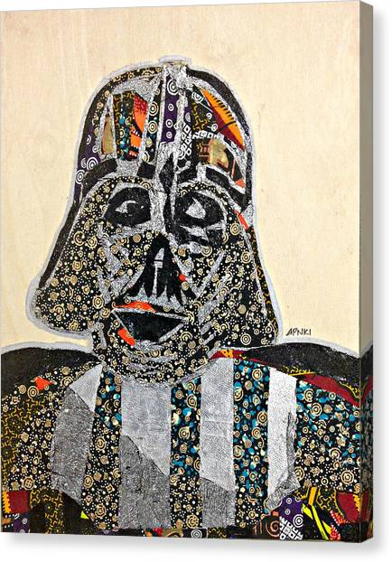 Darth Vader Star Wars Afrofuturist Collection Canvas Print