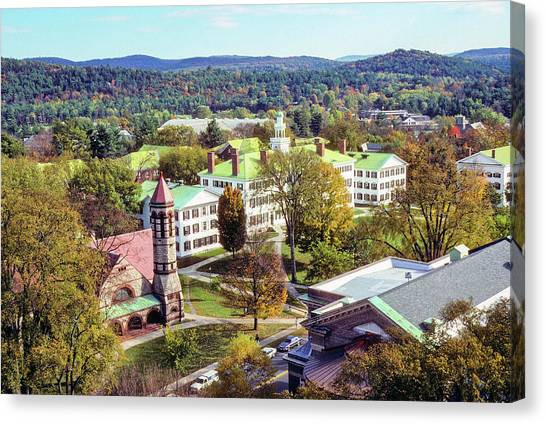 Dartmouth College Canvas Print - Dartmouth College by Art Phaneuf
