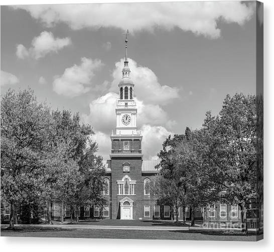 Dartmouth College Canvas Print - Dartmouth College Baker Library Horizontal by University Icons