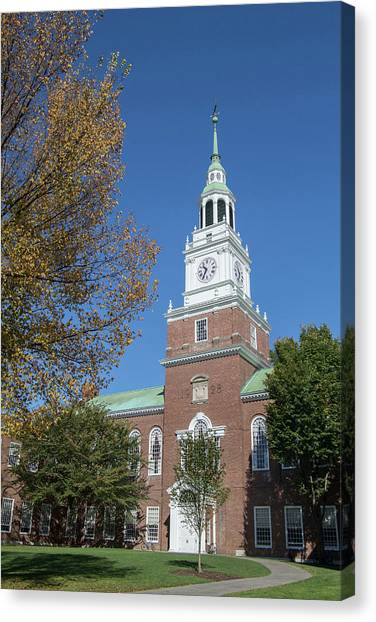 Dartmouth College Canvas Print - Dartmouth College Hanover New Hampshire by Peter Lloyd