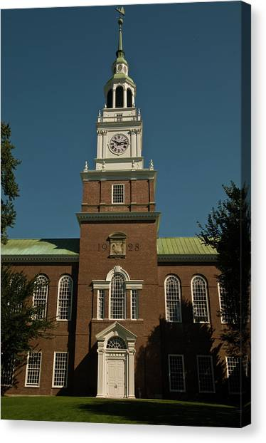 Dartmouth College Canvas Print