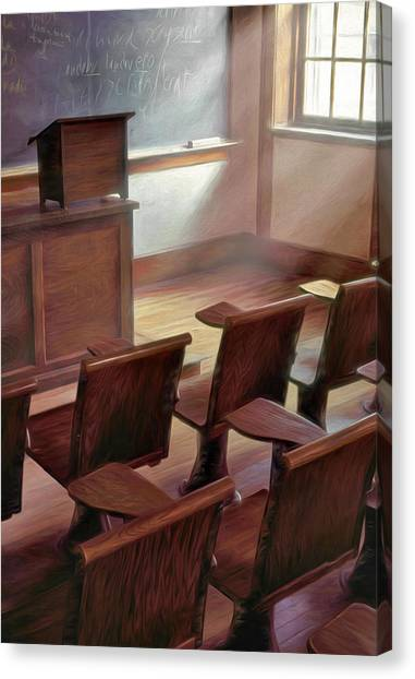 Dartmouth College Canvas Print - Dartmouth Collge Classroom. Hanover, New Hampshire by George Robinson
