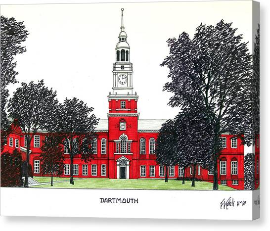 Dartmouth Canvas Print by Frederic Kohli