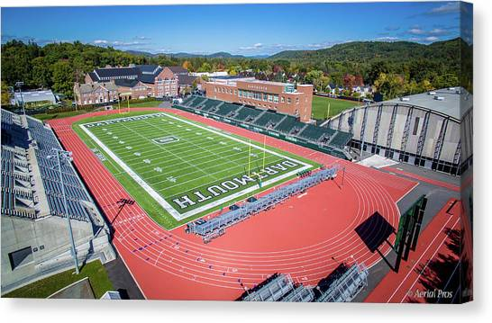 Dartmouth College Canvas Print - Dartmouth Track And Field by Anthony Salerno