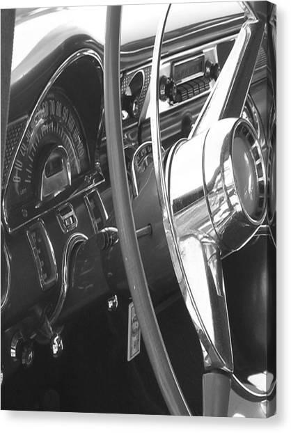 Canvas Print - Dashboard by Audrey Venute