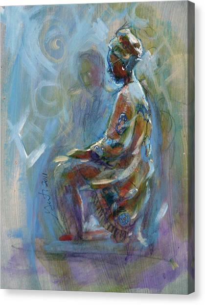 Dashiki Canvas Print
