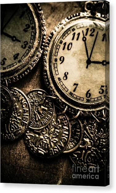 Coins Canvas Print - Dated Antiquities by Jorgo Photography - Wall Art Gallery