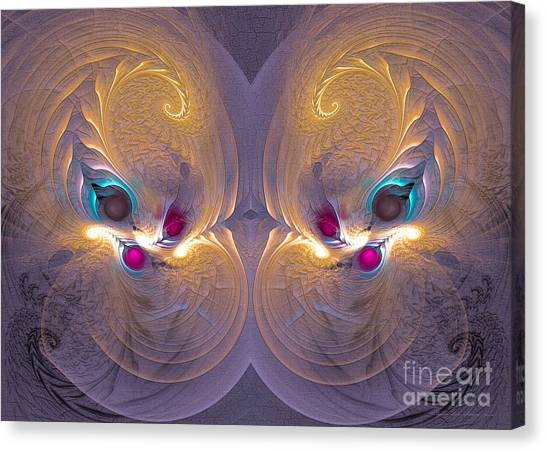 Daughters Of The Sun - Surrealism Canvas Print