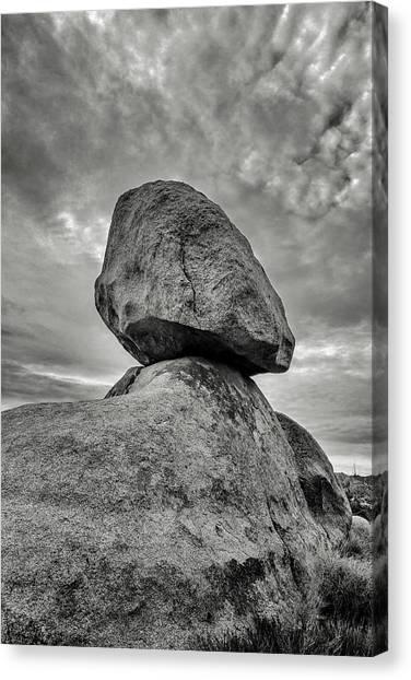 Mojave Desert Canvas Print - Dauntless by Joseph Smith