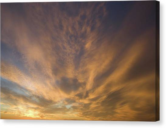 Canvas Print featuring the photograph Dauphin Heavens by Dylan Punke