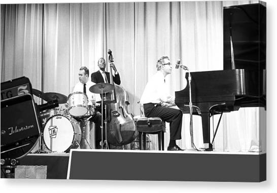 Dave Brubeck Quartet 1967 Canvas Print