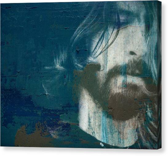Nirvana Canvas Print - Dave Grohl by Paul Lovering