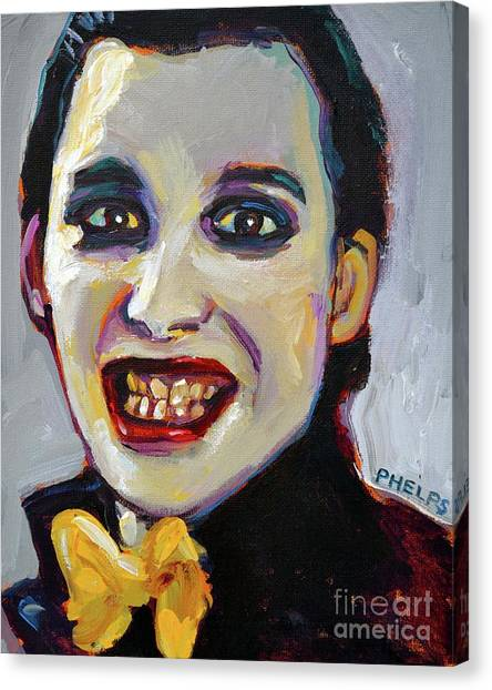 Dave Vanian Of The Damned Canvas Print