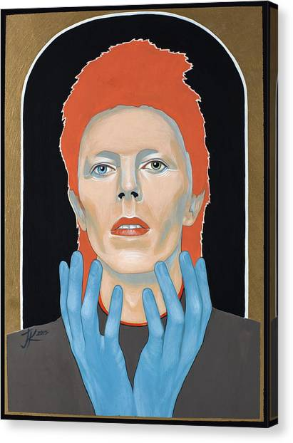 David Bowie 3 Canvas Print