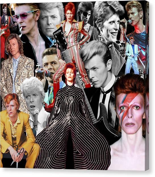David Bowie 6 Canvas Print