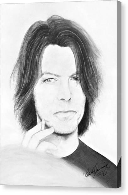 David Bowie - No Pressure Canvas Print