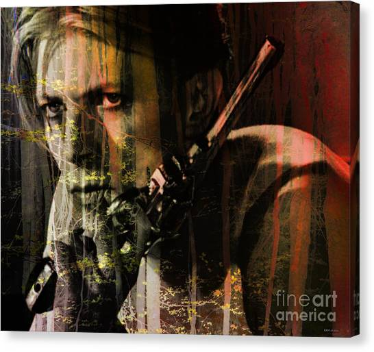 David Bowie / The Man Who Fell To Earth  Canvas Print
