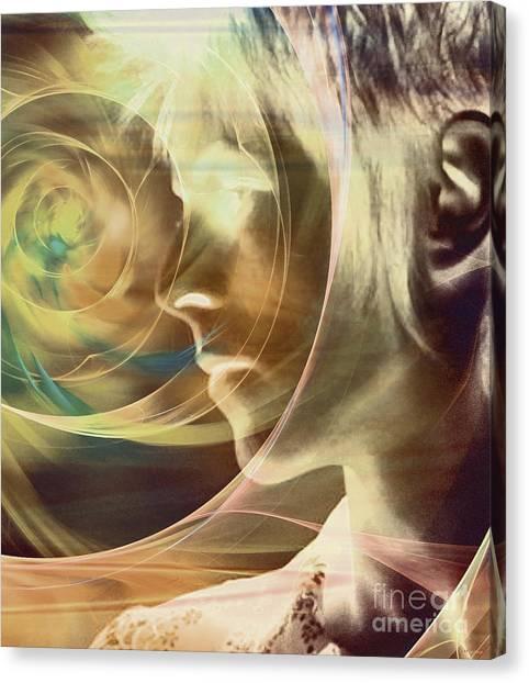 David Bowie / Transcendent Canvas Print