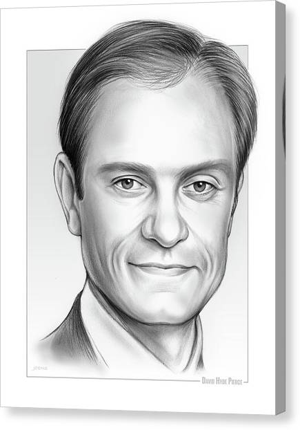 David Hyde Pierce Canvas Print