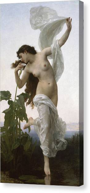 Academic Art Canvas Print - Dawn by Adolphe William Bouguereau