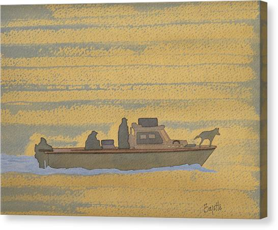 Dawn At Prout's Neck   Canvas Print by Robert Boyette