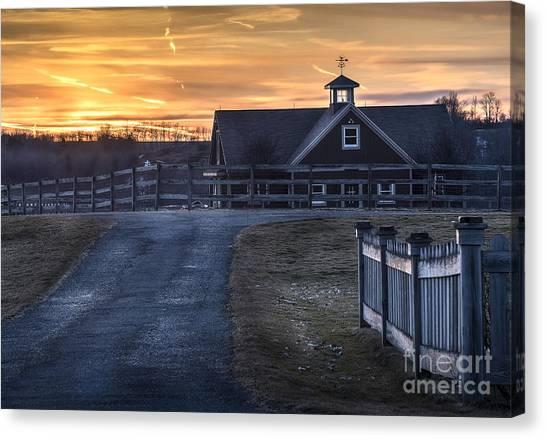 Dawn Breaking Canvas Print