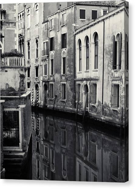 Dawn Canal, Venice, Italy Canvas Print