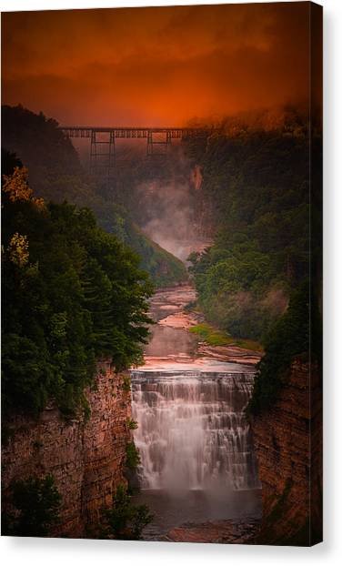 Dawn Inspiration Canvas Print