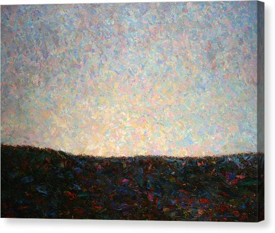 The Sky Canvas Print - Dawn by James W Johnson