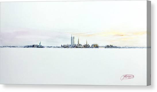 Dawn New York City Canvas Print