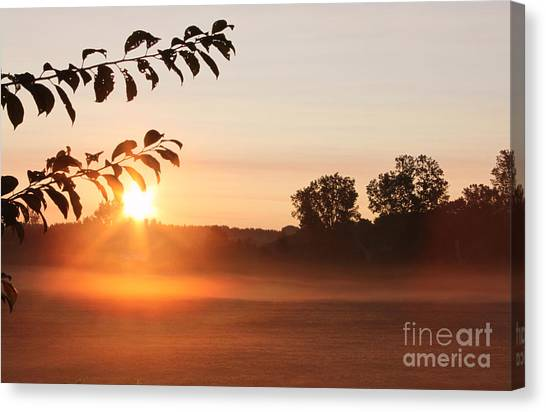 Dawn Of A Brand New Day  Canvas Print