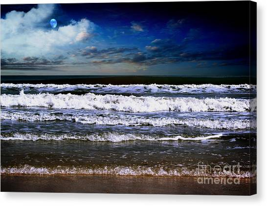 Dawn Of A New Day Seascape C2 Canvas Print