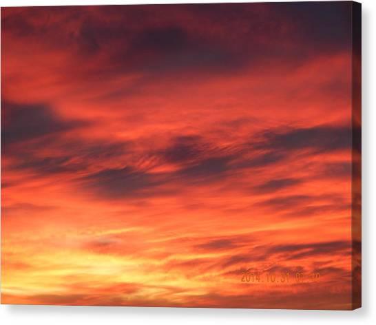 Dawn Of Color Canvas Print