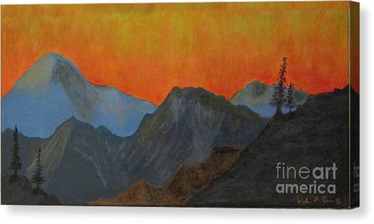 Big Sister Canvas Print - Dawn Of The Next Century by William Crower