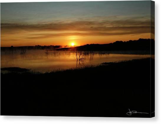 Dawn Of Time Canvas Print