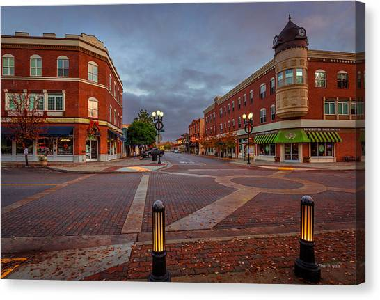 Dawn On Park Street Canvas Print