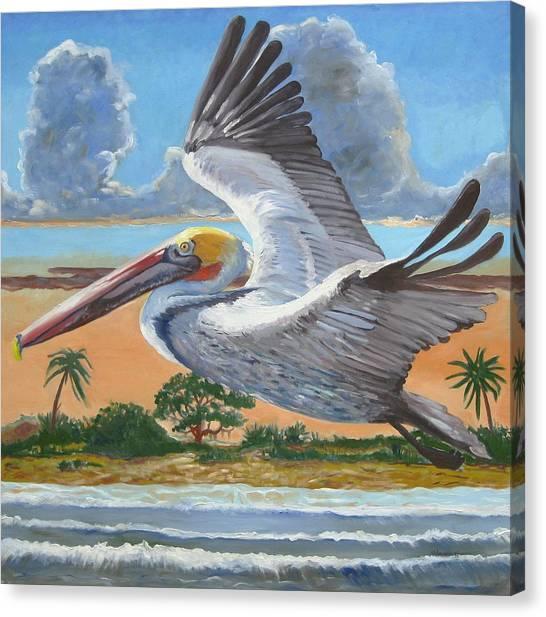 Dawn Patrol Canvas Print by D T LaVercombe
