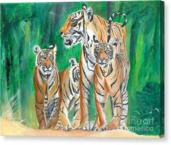 Dawn Patrol- Painting  Canvas Print