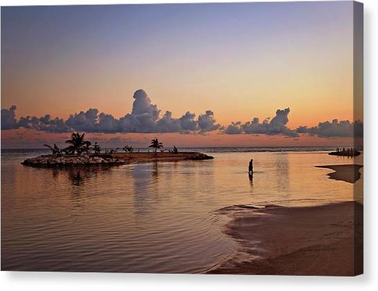 Dawn Reflection Canvas Print