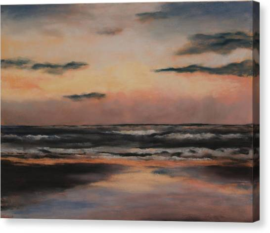 Dawn Canvas Print by Sarah Bernhardt