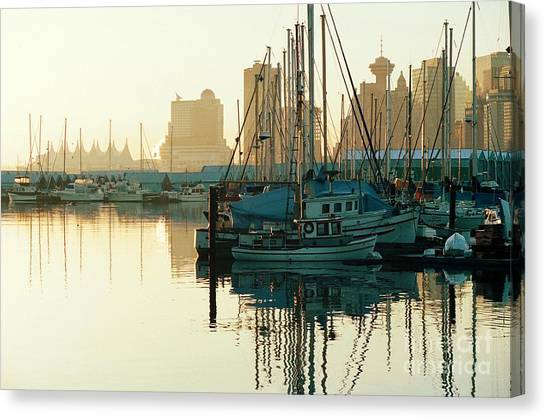 Dawn Serenity Canvas Print by Frank Townsley