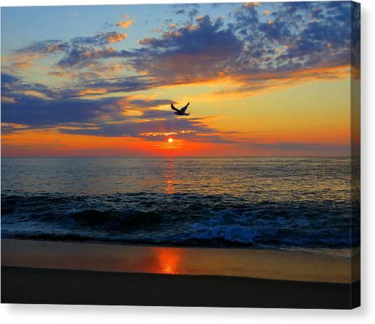 Dawning Flight Canvas Print