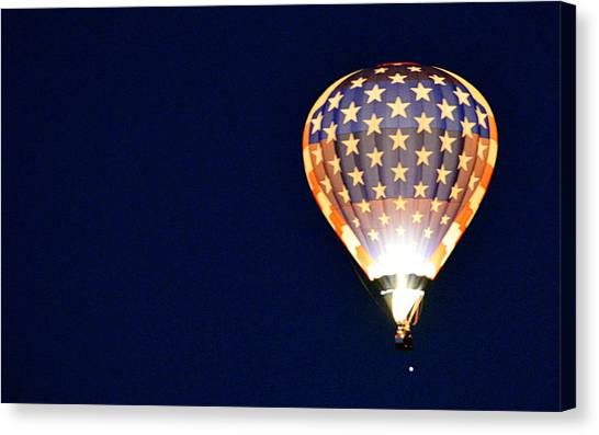 Canvas Print featuring the photograph Dawns Early Light by AJ Schibig